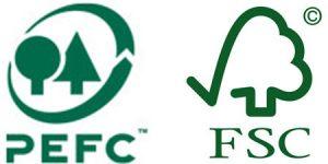 logos pefc-fsc
